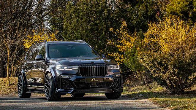 BMW X7 hầm hố hơn với gói nâng cấp từ Lumma Design - 7