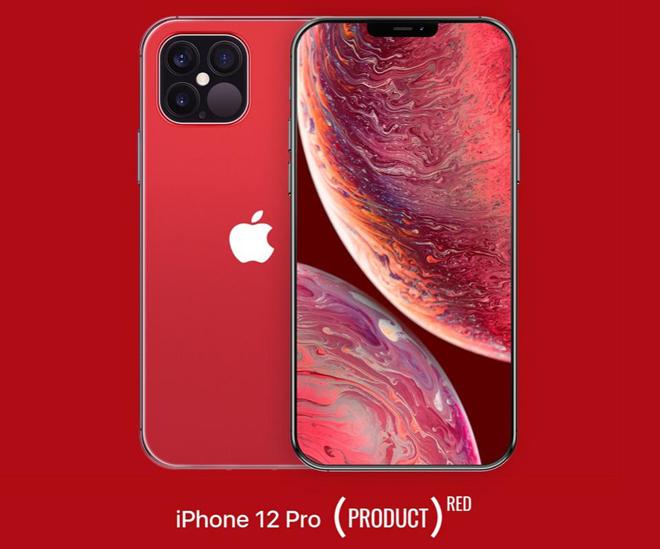 """Chưa """"trình làng"""", iPhone 12 Pro đã bị lộ phiên bản màu đỏ hút mắt - 1"""