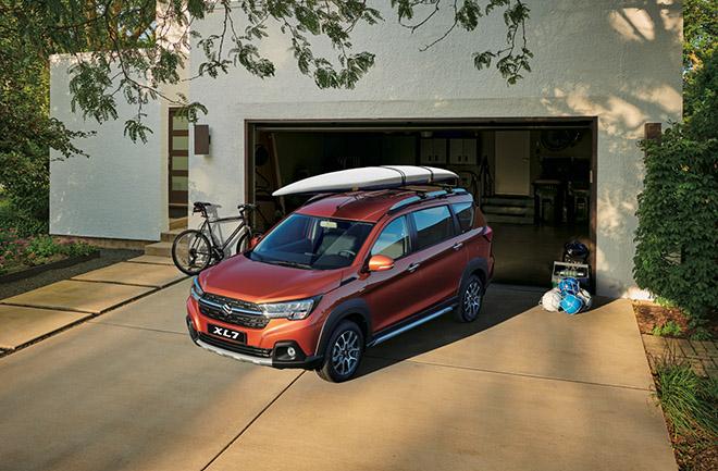 So sánh Suzuki XL7 và Mitsubishi Xpander Cross, ngang tài nhưng chênh giá - 1