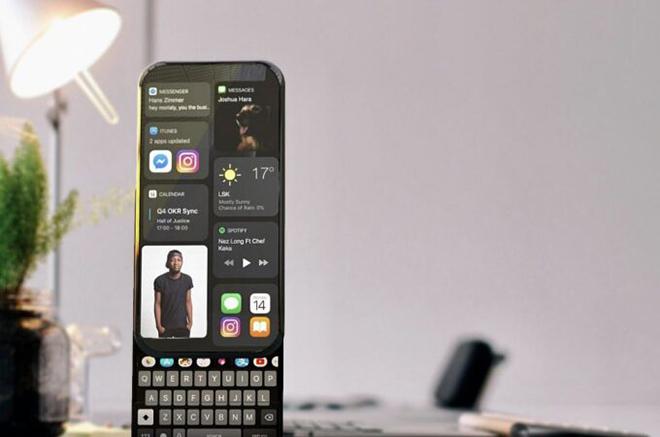 Cùng chiêm ngưỡng ý tưởng iPhone 14 xoay ảo diệu - 1