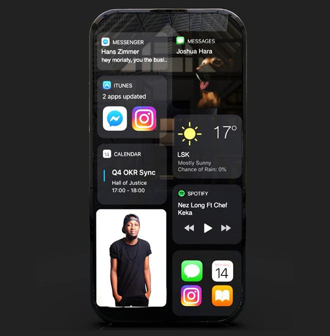 Cùng chiêm ngưỡng ý tưởng iPhone 14 xoay ảo diệu - 5