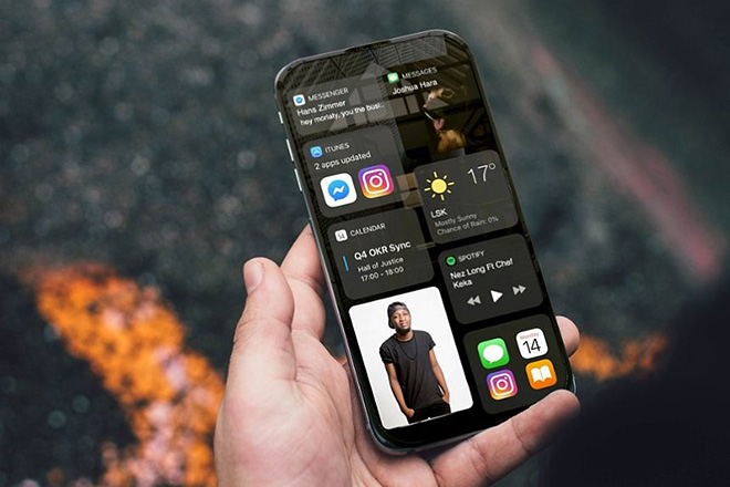 Cùng chiêm ngưỡng ý tưởng iPhone 14 xoay ảo diệu - 6