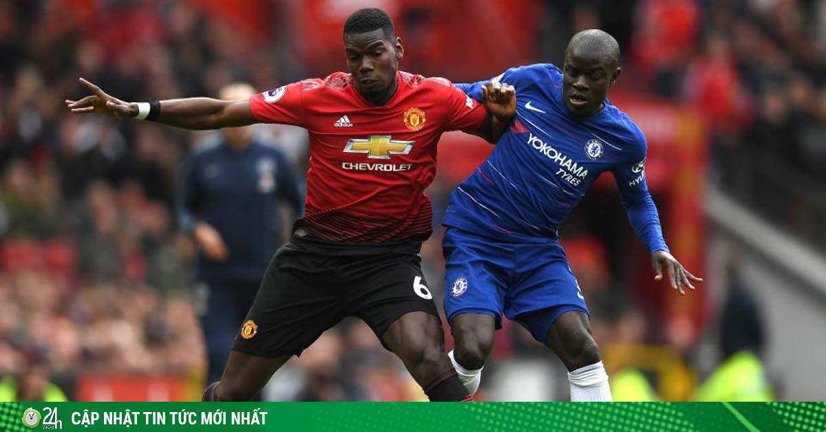 Nghẹt thở bảng xếp hạng Ngoại hạng Anh sắp đá: MU lại vượt Chelsea vòng cuối?