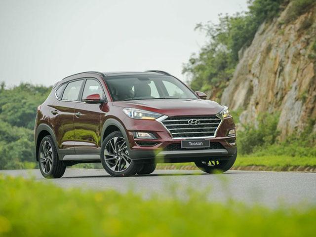Hyundai Tucson giảm giá mạnh lên tới 60 triệu đồng trong tháng 5