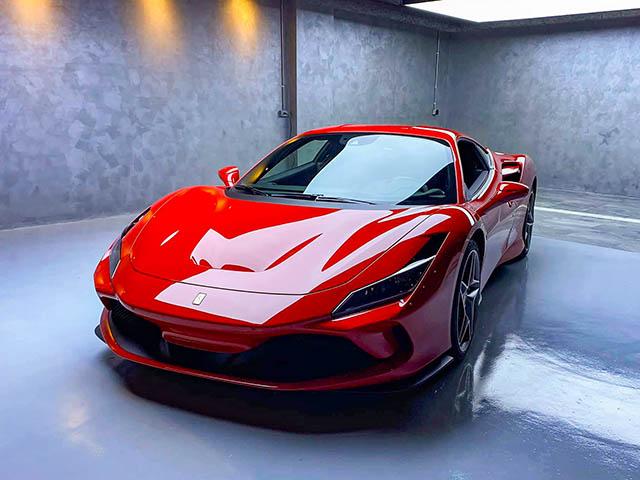 Doanh nhân Quốc Cường tậu thêm siêu xe Ferrari F8 Tributo