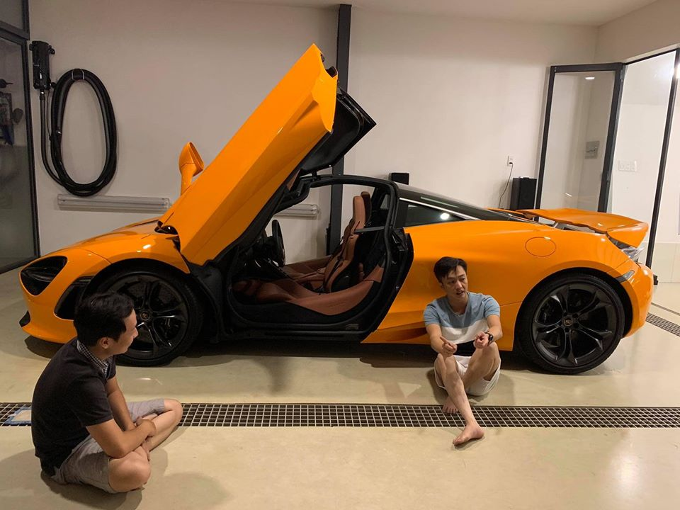 """Vợ Cường Đô La chịu chơi mua 2 siêu xe tặng chồng khiến ai cũng """"choáng"""" - 2"""