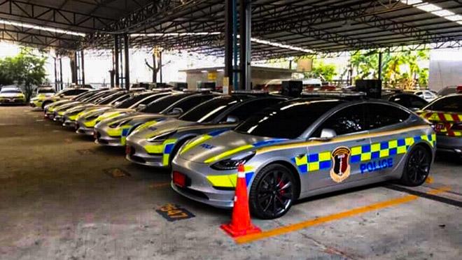 Chính phủ Thái Lan đầu tư gần 3 triệu đô cho dàn xe cảnh sát mới - 1