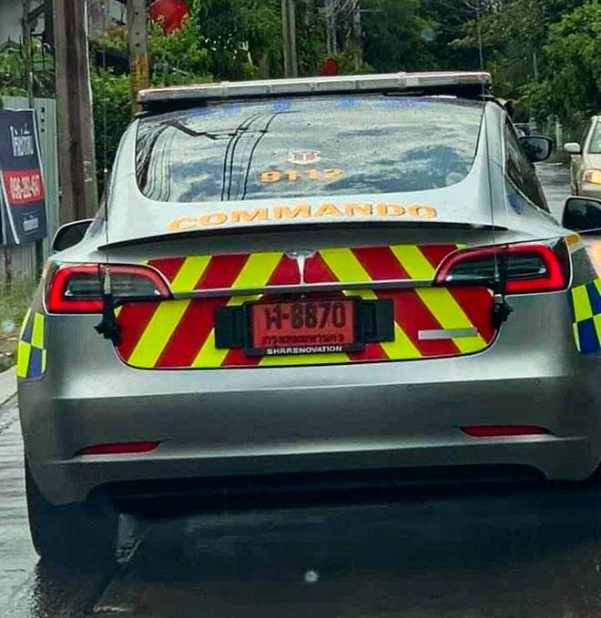 Chính phủ Thái Lan đầu tư gần 3 triệu đô cho dàn xe cảnh sát mới - 2