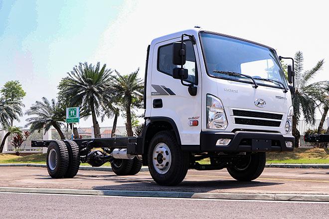 Hyundai Việt Nam ra mắt dòng xe tải Mighty EX8 GT tại thị trường Việt Nam - 1