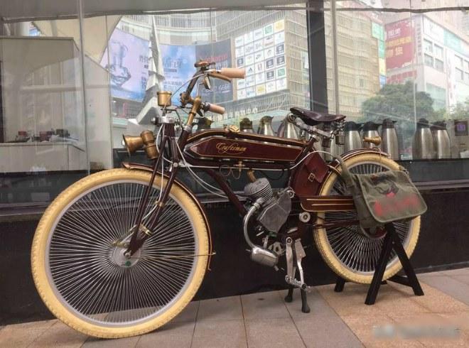 Xe đạp chạy xăng Craftsman 1924.