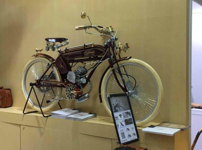Xe đạp chạy xăng được xem là ông tổ của xe máy.