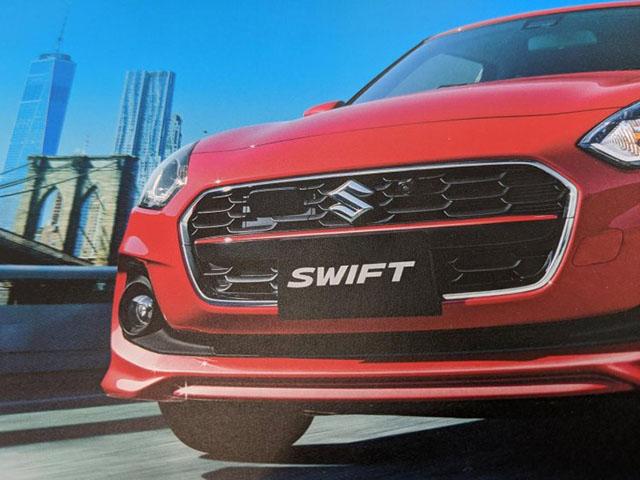 Xem trước Suzuki Swift 2020, tinh chỉnh nhẹ ở ngoại hình