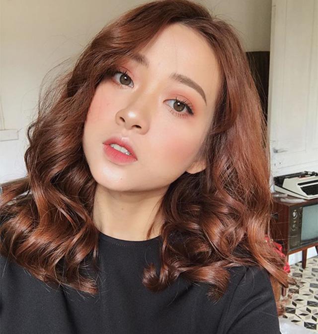 10 kiểu tóc ngang vai mặt tròn đẹp nhất giúp che khuyết điểm hoàn hảo - 6