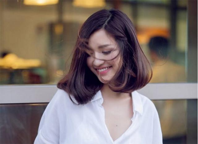 10 kiểu tóc ngang vai mặt tròn đẹp nhất giúp che khuyết điểm hoàn hảo - 8