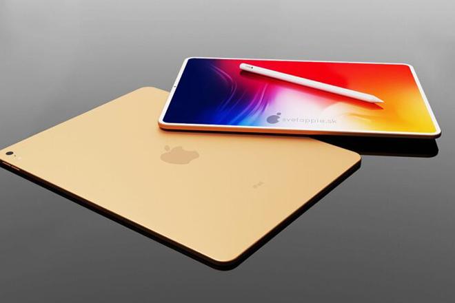 Thiết kế iPad Air 2020 với viền mỏng, đẹp bất ngờ - 1