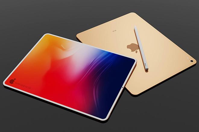 Thiết kế iPad Air 2020 với viền mỏng, đẹp bất ngờ - 3