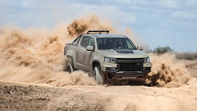 Chevrolet Colorado 2021 bổ sung gói trang bị ngoại thất ...