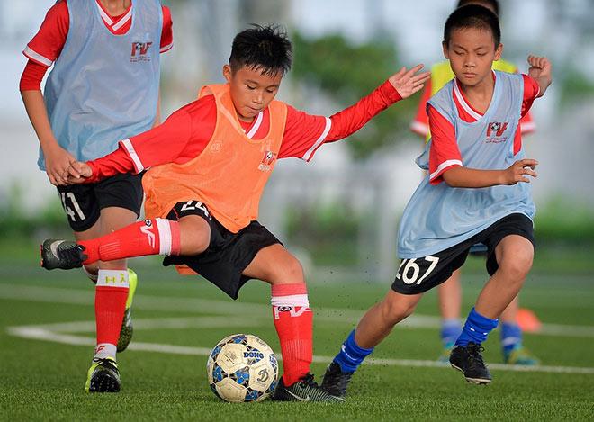 PVF tuyển sinh khóa 12, tìm kiếm tài năng bóng đá trẻ - 1