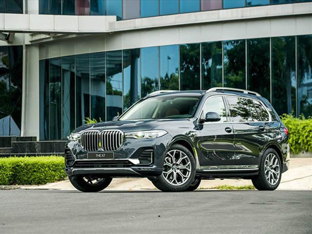 BMW X7 giảm giá cực khủng tới 650 triệu đồng
