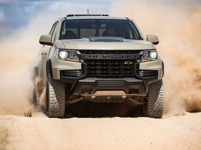 Chevrolet Colorado 2021 bổ sung gói trang bị ngoại thất, tăng giá bán