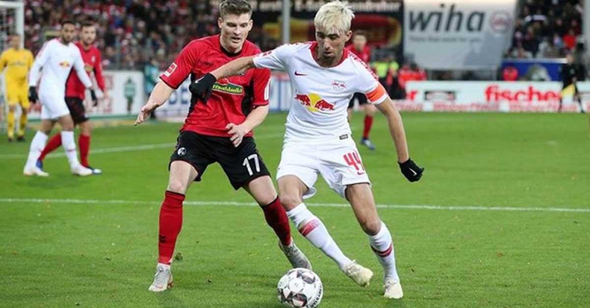 Trực tiếp bóng đá Leipzig - Freiburg: Bất ngờ xảy ra, mở tỷ số tinh tế
