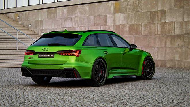 Hãng độ Wheelsandmore nâng cấp công suất Audi RS6 Avant 2020 mạnh hơn cả siêu xe - 2