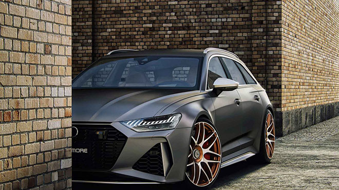 Hãng độ Wheelsandmore nâng cấp công suất Audi RS6 Avant 2020 mạnh hơn cả siêu xe - 4