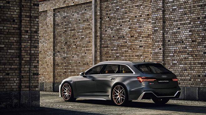 Hãng độ Wheelsandmore nâng cấp công suất Audi RS6 Avant 2020 mạnh hơn cả siêu xe - 5