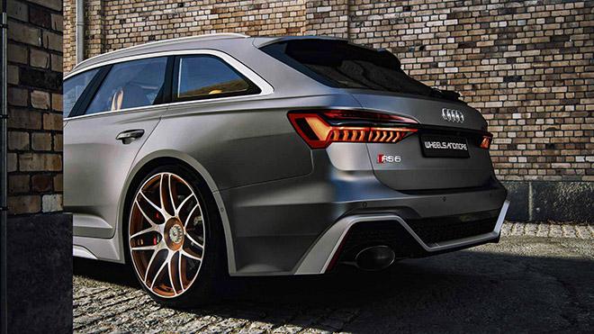 Hãng độ Wheelsandmore nâng cấp công suất Audi RS6 Avant 2020 mạnh hơn cả siêu xe - 6