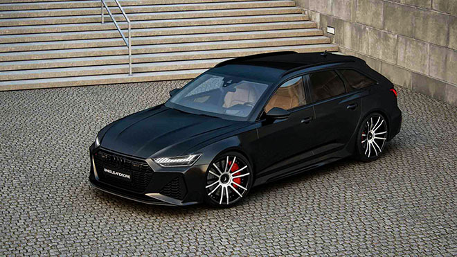 Hãng độ Wheelsandmore nâng cấp công suất Audi RS6 Avant 2020 mạnh hơn cả siêu xe - 10