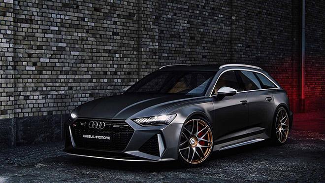 Hãng độ Wheelsandmore nâng cấp công suất Audi RS6 Avant 2020 mạnh hơn cả siêu xe - 7