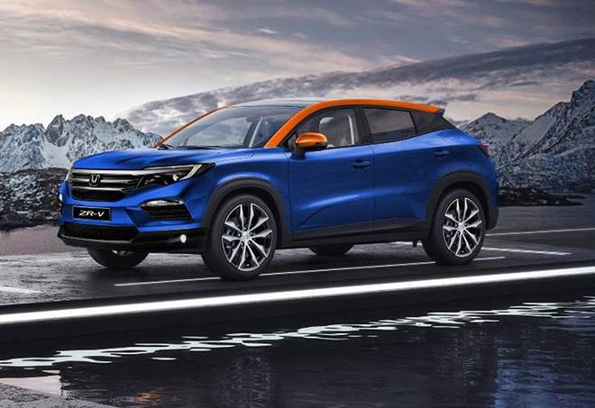 Lộ Honda ZR-V, crossover cỡ nhỏ có giá bán dự kiến thấp hơn HR-V - 1