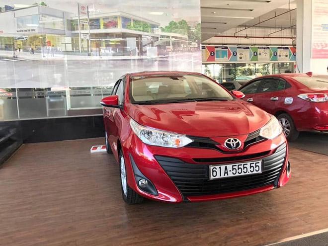 Toyota Vios biển số khủng ngũ quý 3 xuất hiện tại Hà Nội - 3