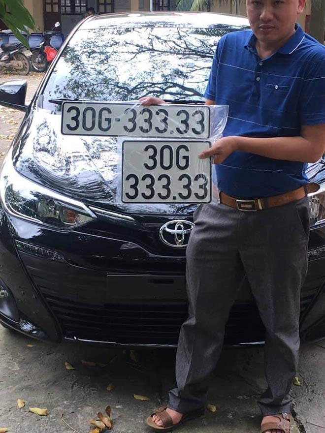 Toyota Vios biển số khủng ngũ quý 3 xuất hiện tại Hà Nội - 1