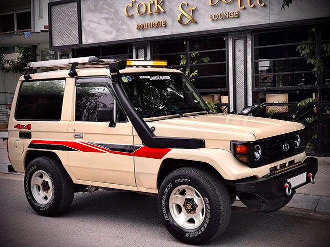 Xe SUV Land cộc BJ70 hàng hiếm rao bán với giá 350 triệu đồng - 2