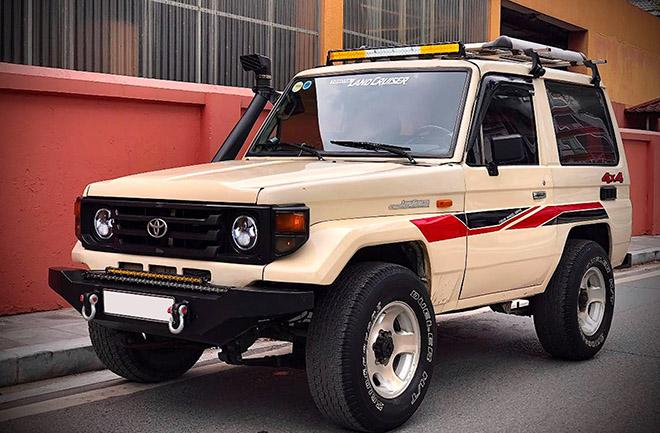 Xe SUV Land cộc BJ70 hàng hiếm rao bán với giá 350 triệu đồng - 1