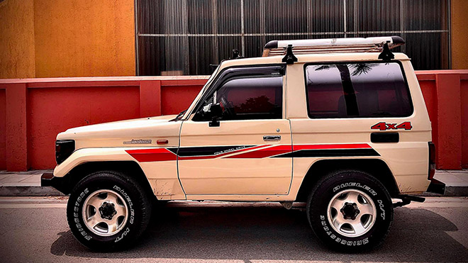 Xe SUV Land cộc BJ70 hàng hiếm rao bán với giá 350 triệu đồng - 3