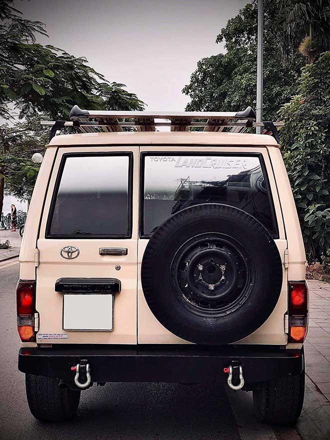 Xe SUV Land cộc BJ70 hàng hiếm rao bán với giá 350 triệu đồng - 5