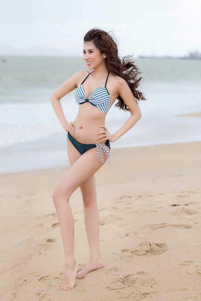 Hoa hậu Nha Trang có phẫu thuật thẩm mỹ thay đổi cấu trúc cơ thể? - 1