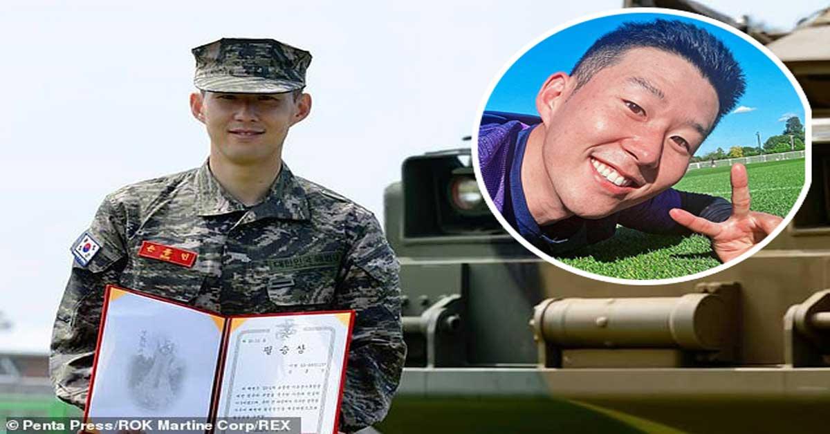 """""""Siêu chiến binh"""" Son Heung Min xuất hiện: Thoát cách ly, mặt tươi roi rói"""