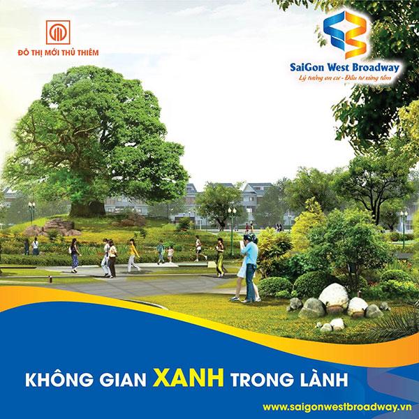 Phố thương mại Saigon West Broadway; lý tưởng an cư – đầu tư xứng tầm - 1