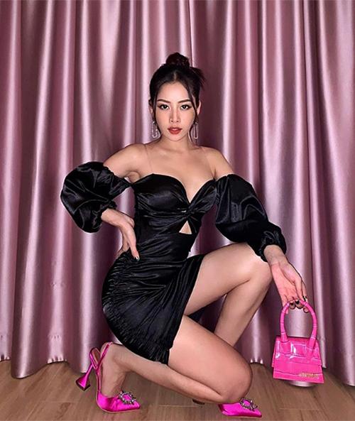 Chi Pu chỉ chạy bộ đơn giản vẫn có đùi thon chân gọn, mặc váy đẹp mê ly - 1