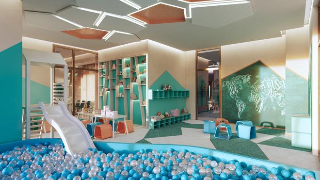 Thiết kế phòng vui chơi trong nhà dành cho trẻ em tại West Gate