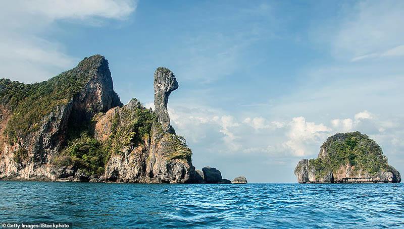Hòn đảo nhiệt đới kỳ quái ở Thái Lan trông giống như một con gà - 5