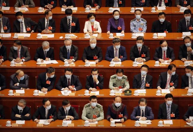 Cảnh đặc biệt trong cuộc họp chính trị quan trọng bậc nhất năm của Trung Quốc - 1