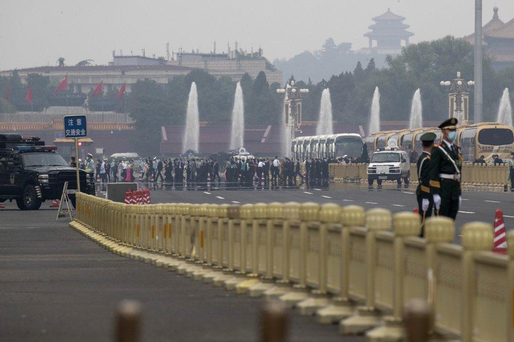 Cảnh đặc biệt trong cuộc họp chính trị quan trọng bậc nhất năm của Trung Quốc - 3