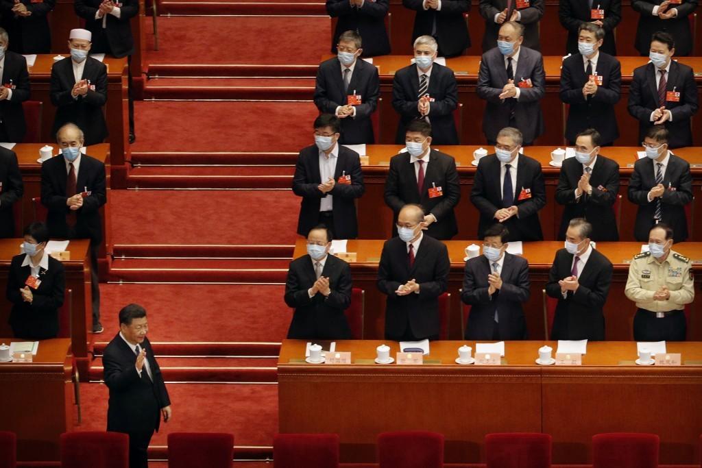 Cảnh đặc biệt trong cuộc họp chính trị quan trọng bậc nhất năm của Trung Quốc - 2