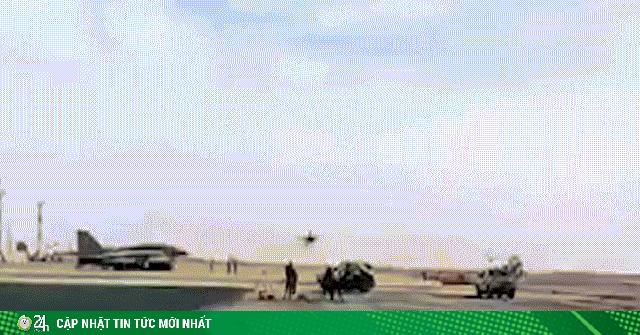 Video: Chiến đấu cơ bay cực thấp, sát đầu người