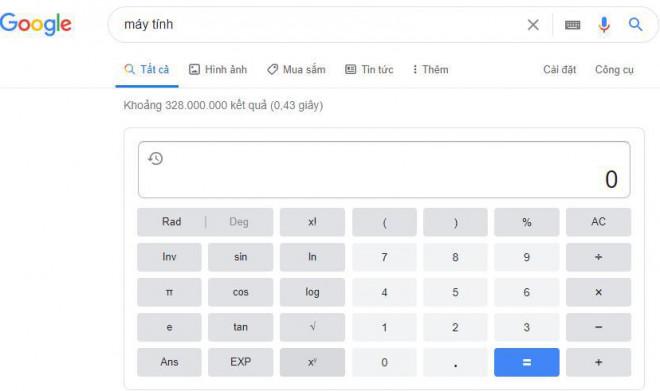 """""""Bí mật"""" về 10 từ khóa kích hoạt các tính năng ẩn của Google - 2"""
