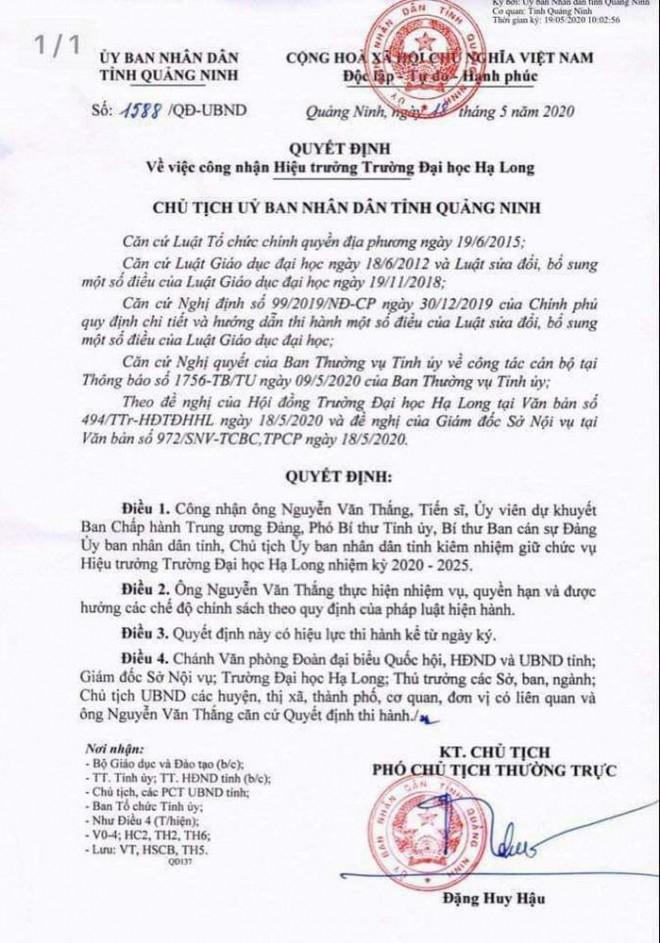 Bộ trưởng Lê Vĩnh Tân: Chủ tịch tỉnh làm hiệu trưởng, tôi mới nghe lần đầu - 2